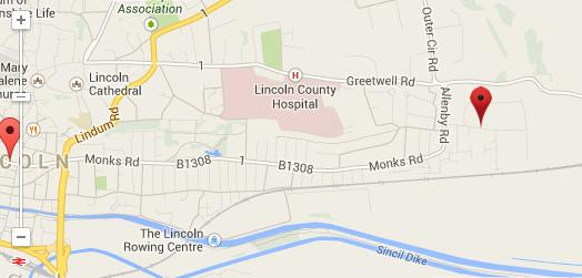 Shaw Trust map